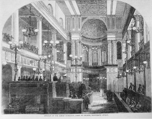 New Synagogue, Illustrated Times 1855